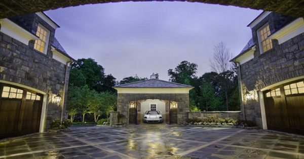 Luxury Garages Become A Swanky Social Space